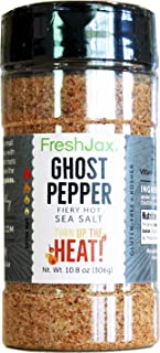 FreshJax Premium Gourmet Spices and Seasonings (Ghost Pepper Sea Salt)