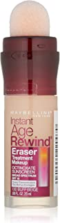 Maybelline New York Instant Age Rewind Eraser Treatment Makeup, Buff Beige, 0.68 fl. oz.