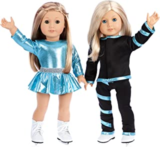 ice skating outfit for 18 inch doll