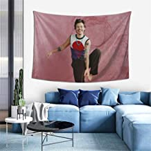 hazhisha Ha-Rry Styles Wall Hanging Tapestry Art Home Decorations for Living Room Bedroom Dorm Decor in 40 X60 Inches