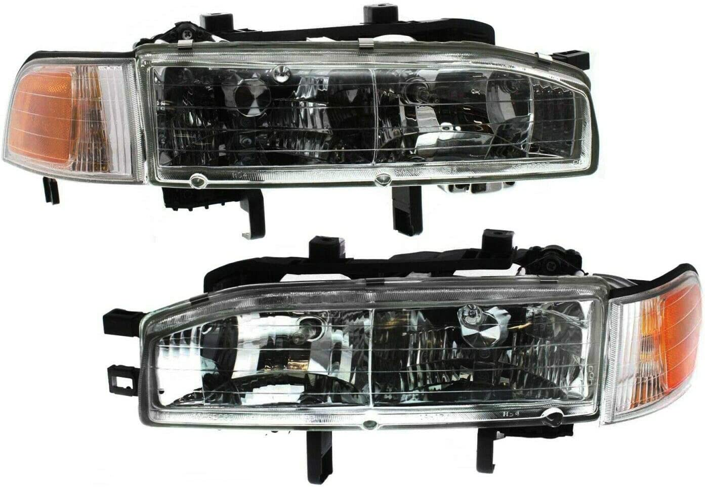 Niviora Headlight Set Safety and trust Compatible with Max 77% OFF Left Ri Accord 1992-93