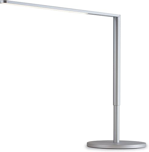 high quality Koncept Lady 7 discount LED Desk online sale Lamp with USB Charging Port in Silver, L7-SIL-DSK outlet sale