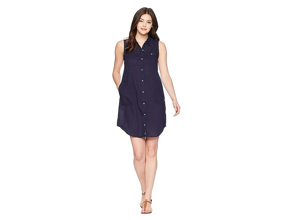 Toad&Co Indigo Ridge Sleeveless Dress (Dark Indigo Solid) Women