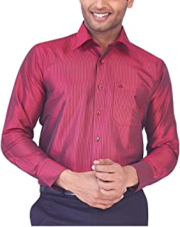 MARK ANDERSON Men's Raw Silk Gold Shirt