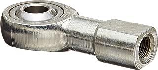 Sealmaster TR 4 Rod End Bearing, Three Piece, Precision, Non-Relubricatable, Female Shank, Right Hand Thread, 1/4