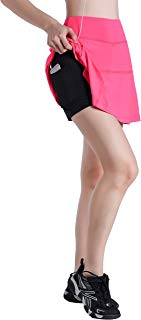 EAST HONG Women's Fitness Movement Short Skirt Lightweight Running Short Skirt