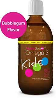 Nature's Way NutraSea Kids Omega 3 Supplement, Bubblegum, 500 mL Liquid
