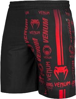 Venum Men's Trademark Fitness Short - Black/Red