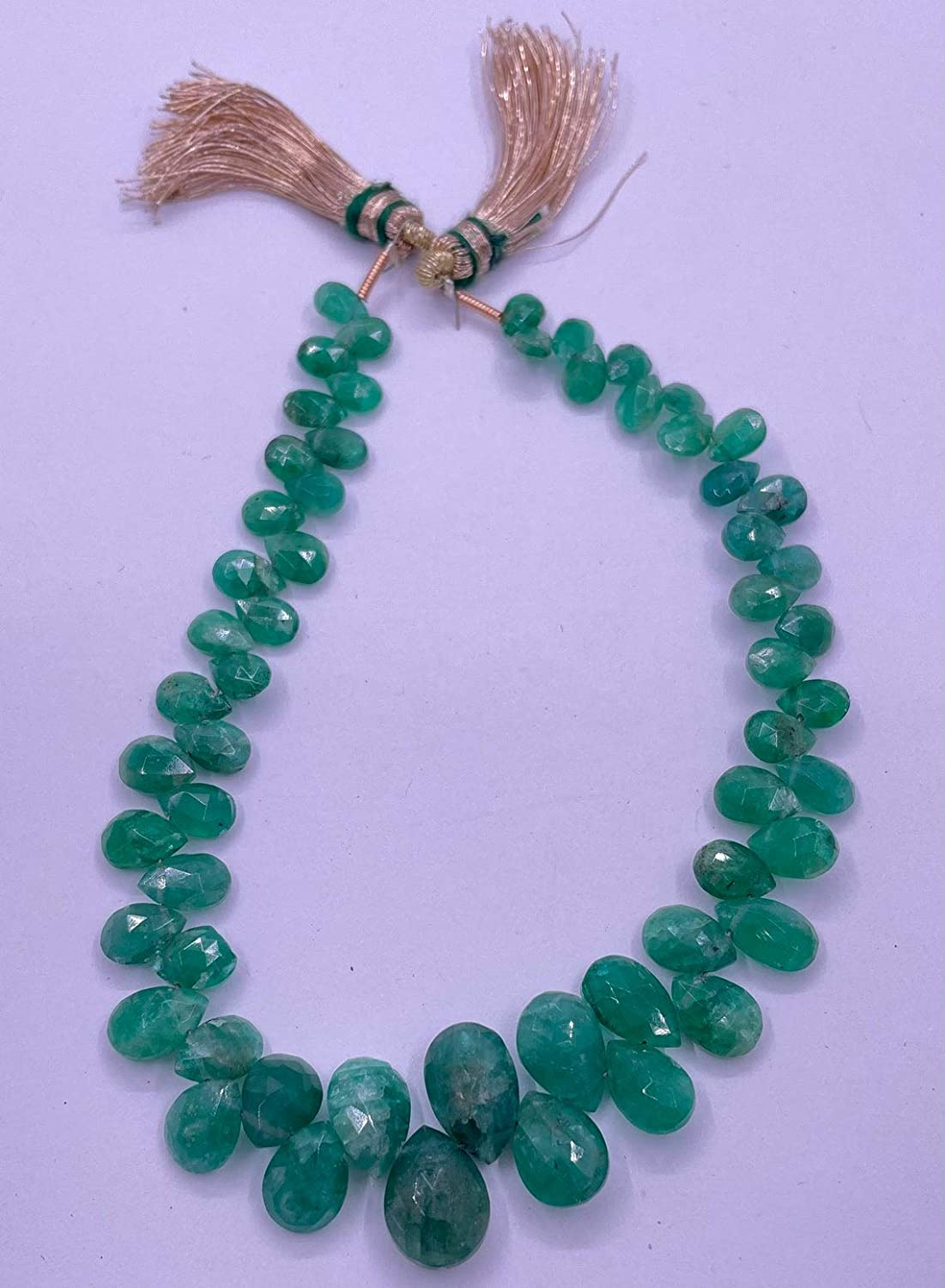 Shree Narayani AAA Cheap super special price Quality emerald Long-awaited 5x8-8x12mm Strand Loose Beads