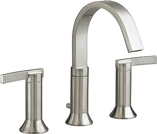 American Standard 7430.801.295 Berwick 2 Lever Handle Widespread Faucet, Satin Nickel