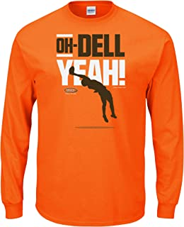 Cleveland Football Fans. Oh-Dell Yeah Orange T-Shirt (Sm-5X)