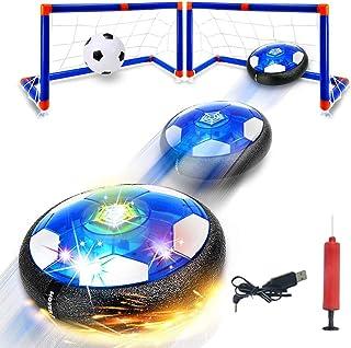 EBILUN Mini Air Power Soccer Disc Hover Balle Gliding Sports Football Jouet Enfant Cadeau
