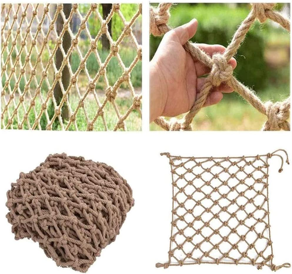 Hemp Rope Net sold out Balcony Trellis Protective Netting gift
