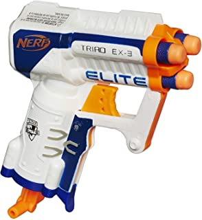Nerf N-Strike Elite Triad EX-3 Blaster (Colors may vary) by