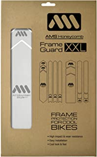 All Mountain Style Honeycomb High Impact Frame XXL Guard, Clear/Silver