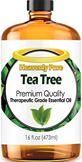 Tea Tree Essential Oil - Huge 16 OZ Bulk Size - 100% Pure Therapeutic Grade - Tea Tree Oil is Great for Aromatherapy, Acne, Hair Nourishment, Sinus & Allergies, & More!