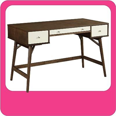 Adore Decor Sutton Writing Desk, White