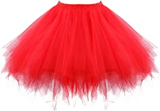 Best red puffy dress Reviews