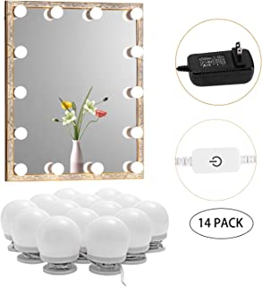 dressing room lights with mirror