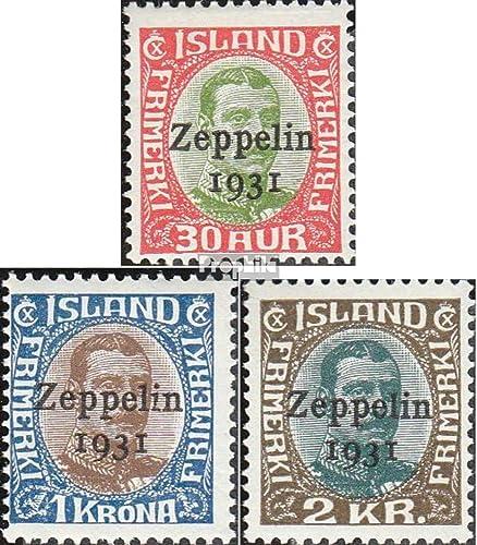 envío gratuito a nivel mundial Prophila Collection Islandia 147-149 (Completa.edición.) 1931 cónde Zeppelin (Sellos (Sellos (Sellos para los coleccionistas) Aviación  promociones de equipo