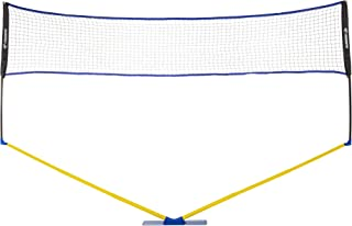 Triumph Sports Multi-Sport Versatile Combo Outdoor Game Net Set Includes Volleyball, Badminton, and Pickleball, Blue (35-7...