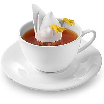 Fred & Friends Tea Infuser, Standard, White