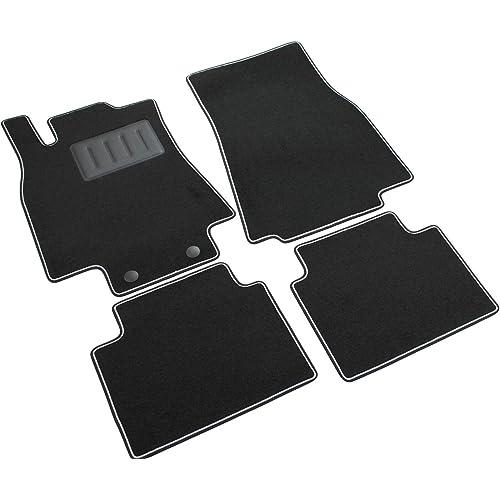 Il Tappeto Auto SPRINT02902 - Alfombrillas de moqueta para el coche, color negro, antideslizantes