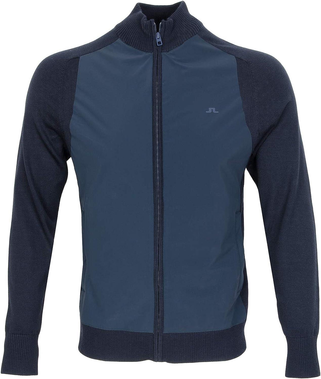 J Lindeberg Knitted Hybrid Jacket