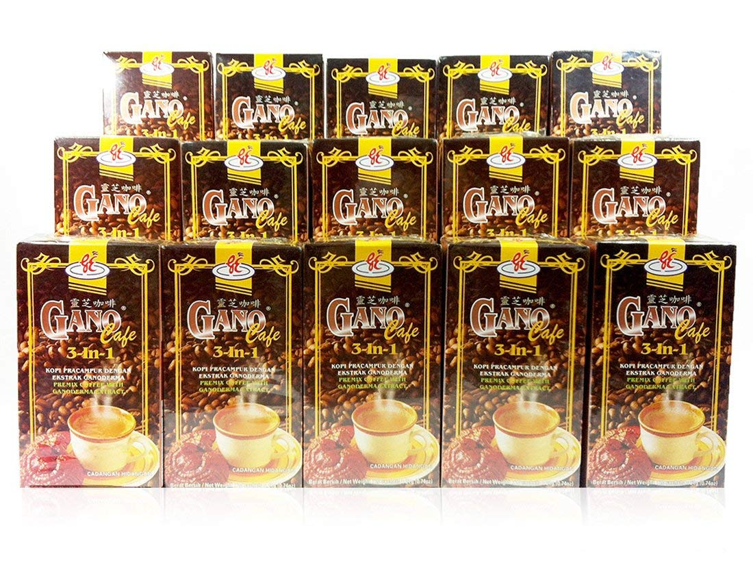 18 Boxes Gano Excel Ganoderma Max 54% OFF All items in the store Coffee 1 3 IN