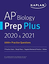AP Biology Prep Plus 2020 & 2021: 7 Practice Tests + Study Plans + Targeted Review & Practice + Online (Kaplan Test Prep)