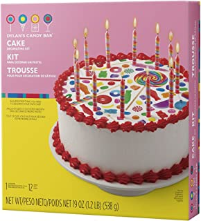 Wilton 2104-6812 Dylan's Candy Bar Cake Decorating Kit, Assorted