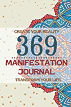 3-6-9 Manifestation Journal -Law of Attraction Guided Workbook for Manifesting Your Dreams -Writing Exercise NoteBook Affi...