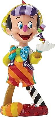 """Enesco Disney by Britto Pinocchio 75th Anniversary Figurine, 8"""""""