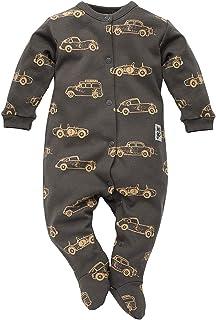 FLIKEFASHION-PINOKIO OLD CARS Kinder-Mädchen Jungen, Baby Overall/Strampler/Einteiler/Gesamt, Größen: 56-74, 100% Baumwolle, Hergestellt in EU