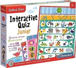 Clementoni 0619253para el Aprendizaje Interactive Quiz Jr.