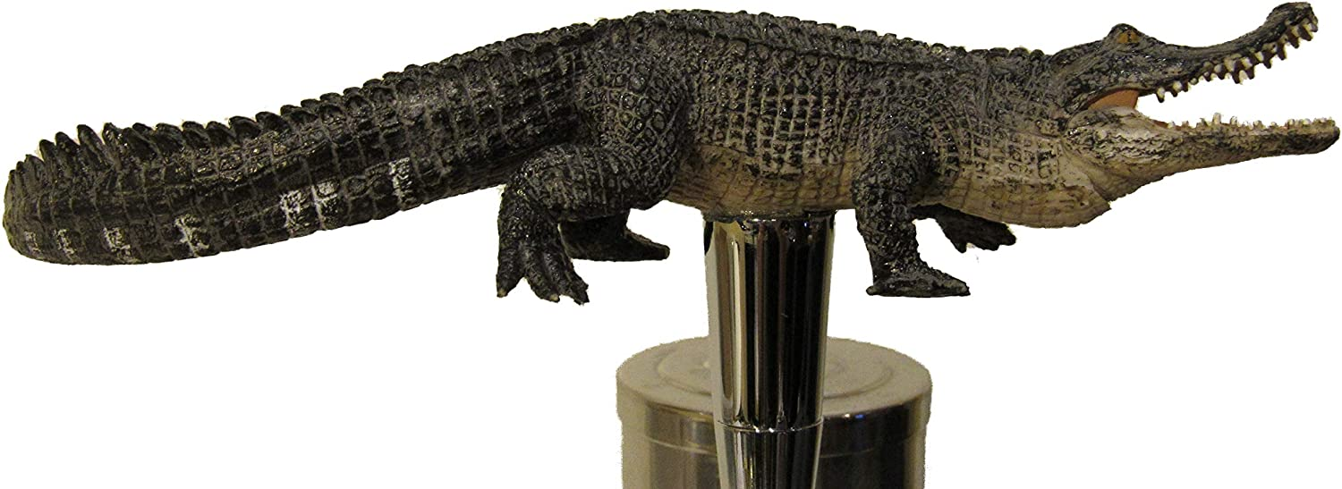 KoolCollectibles NEW before selling Alligator Beer Tap Kegerator Credence Handle Sports Bar