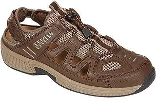 Orthofeet Proven Pain Relief Comfortable Plantar Fasciitis Orthopedic Diabetic Flat Feet Alpine Men's Sandals