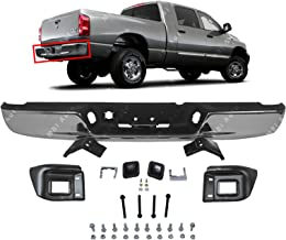 BUMPERS THAT DELIVER - Chrome, Steel Rear Step Bumper Assembly for 2004-2008 Dodge RAM 1500 2500 3500 Heavy Duty 04-08, CH1103111