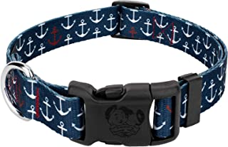 anchor dog collar