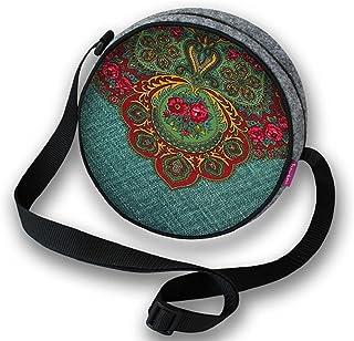 Filztasche Damentasche Handtasche Umhängetasche Schultertasche RONDO Cracovienne