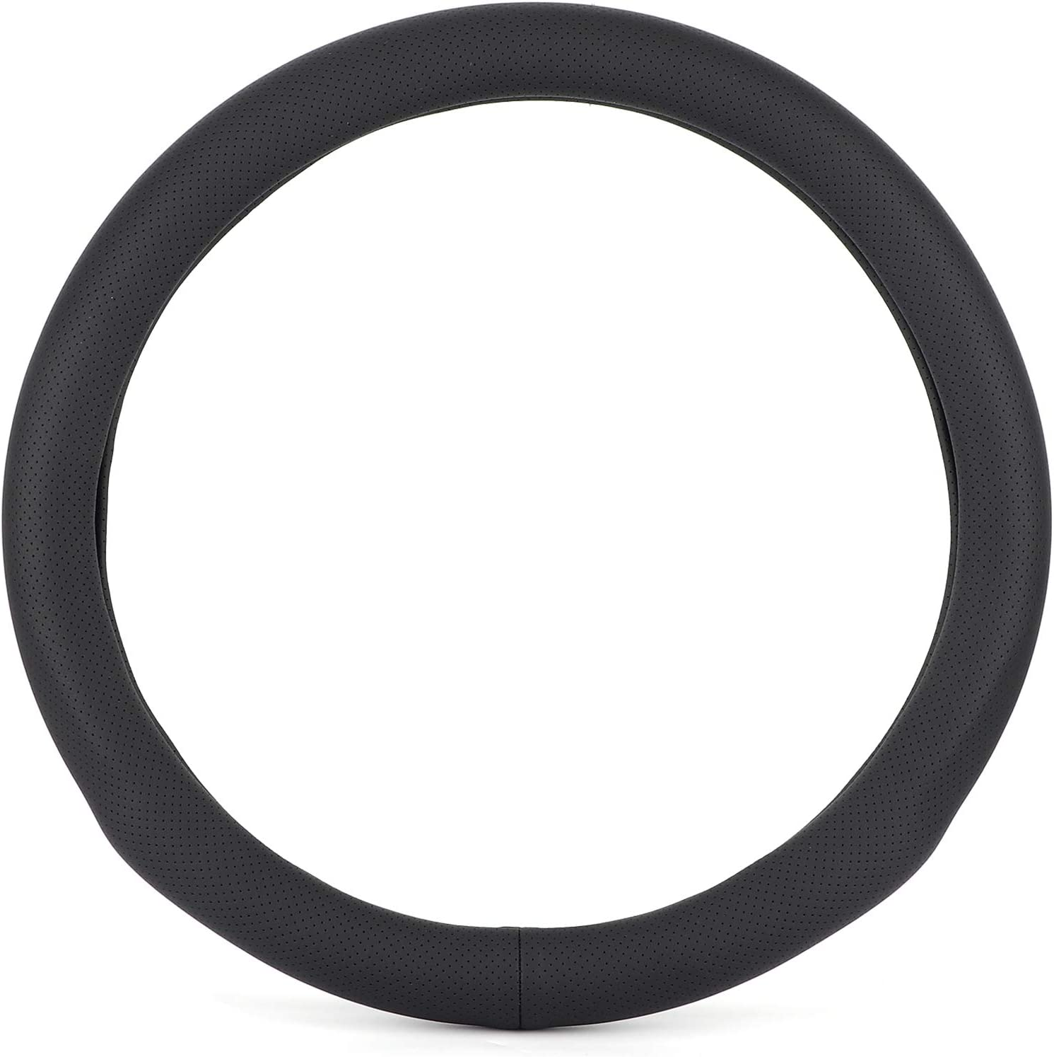 Car Regular dealer Steering Max 47% OFF Wheel Cover 15 C Universal Artificial Leather Inch