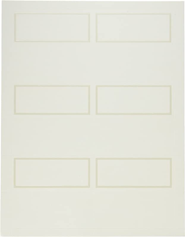 Amscan Traditional Wedding Printable Place Cards Party Supply Ivory Paper 3 X 2 Pack Of 12
