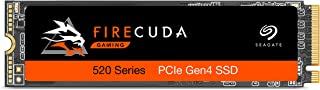 Seagate FireCuda 520 1 TB Performance Internal Solid State Drive SSD PCIe Gen4 x4 NVMe 1.3 for Gaming PC Gaming Laptop Des...