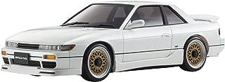 Kyosho Mini-Z MA-020 AWD Sport Pearl White Nissan Silvia S13 Aero Micro RC Car with LED Lights