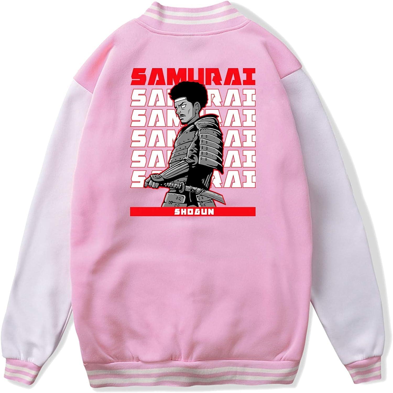 Gor-illaz De-mon Day-s Teen Unisex Fashionable Print Design Plus Velvet Baseball Uniform Jacket Sports Jacket