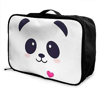 USA American Flag Patriotic Travel Duffel Bag Waterproof Fashion Lightweight Large Capacity Portable Luggage Bag