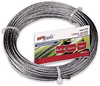 Cable de acero//alambre cuerda en acero galvanizado o 1,2,3,4,5,6,10,11/mm