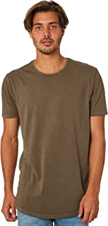 Silent Theory Men's Acid Tail Mens Tee Crew Neck Short Sleeve Cotton Green