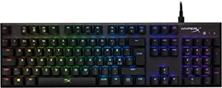 HyperX Alloy FPS RGB, Mechanical Gaming Keyboard, Compact, Software-Controlled Light and Macro Customization, Fast and Lin...
