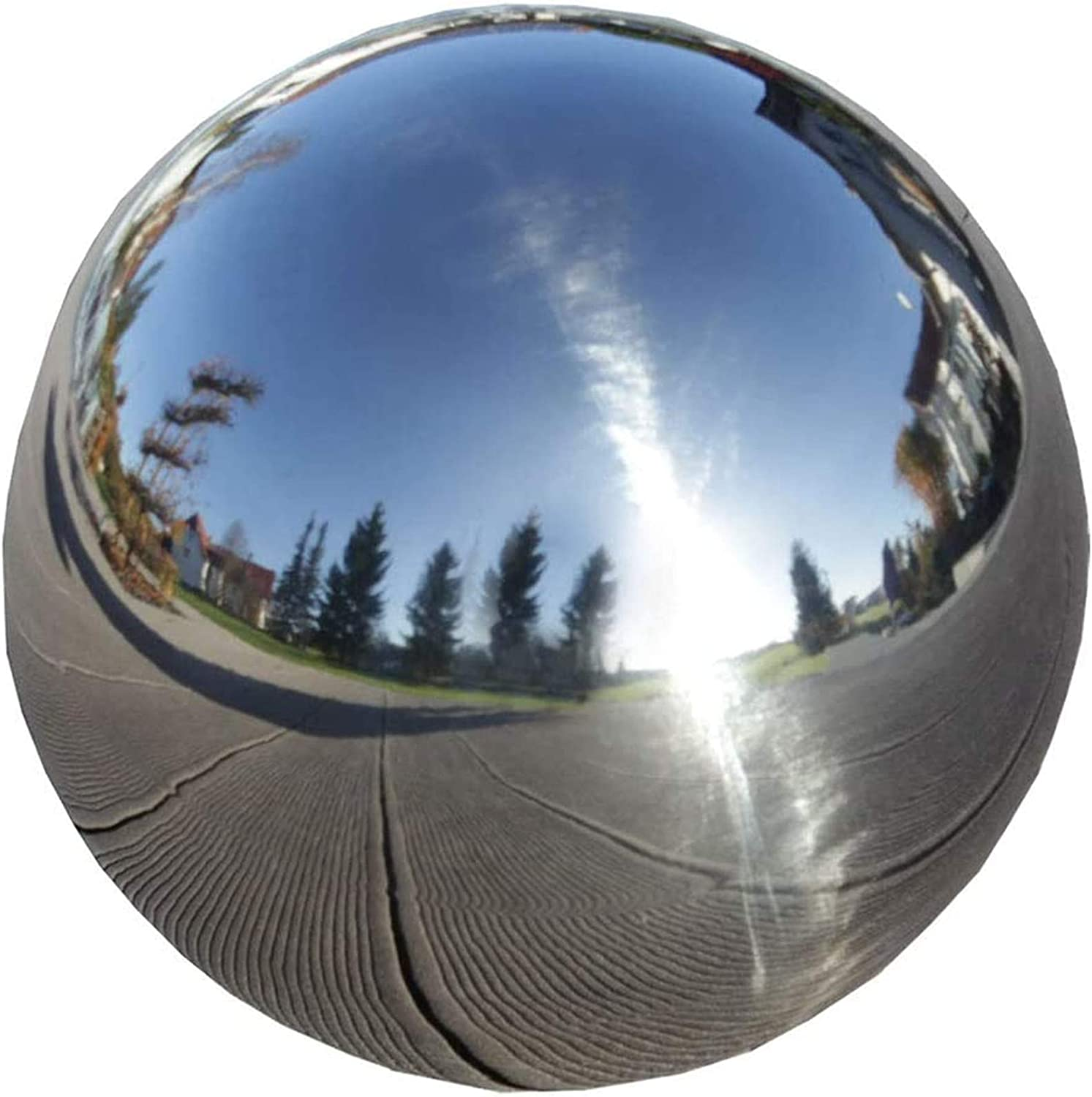 Stainless Steel Gazing Globe 12 8 inch Sta Durable Seasonal Wrap Introduction 6 Max 46% OFF